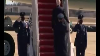 Joe Biden falls 3 times