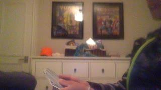 kid does card magic trick