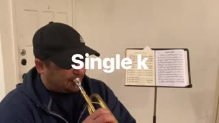 C natural minor (aeolian); on single k w/commentary