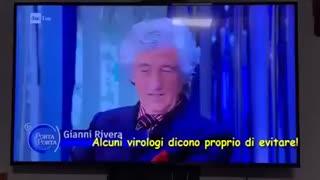 11.giu.2021 - Gianni Rivera ha fatto GOAL: <<Vaxxinarmi? Neanche per idea!>>
