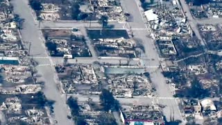 Canadian town destroyed by wildfire