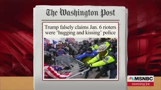 Joe Scarborough Rebukes Trump Over Capitol Rioter Comments