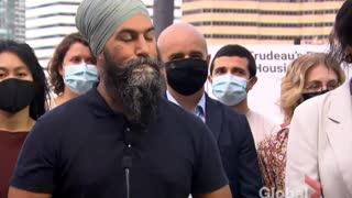 Jagmeet Singh says Maxime Bernie should be excluded from federal debates