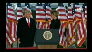 Watch: Melania Trump Bids Farewell January 20th 2021