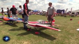RC Plane Crash Fail
