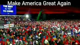 Traverse City, Michigan - Make America Great Again President Trump 11-02-2020