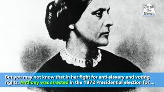 President Trump to pardon women's suffrage icon Susan B. Anthony posthumously