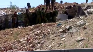 Palestinian shot dead after 'car-ramming' troops