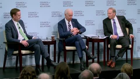 Joe Biden admitted to his corruption 55