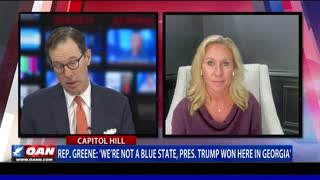 GOP Rep. Taylor Greene says Ga. not a blue state