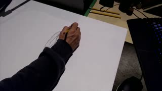 Time Lapse Drawing: 1st serious attempt #art #pencils #notbobross