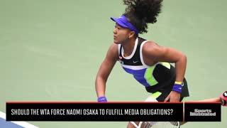 Naomi Osaka Fined at French Open