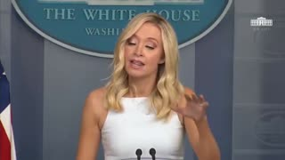 Kayleigh McEnany Asked About Trump Calling For Boycott Of Goodyear