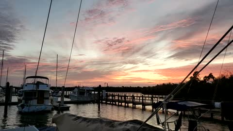 Loving sunset