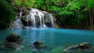 BEAUTIFUL WATERFALL CALMING NATURE SOUNDS