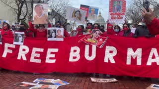 Bay Area Burmese Protest Military Coup