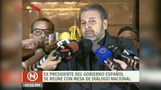 Vista de Zapatero a Venezuela