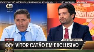 Vítor Catão mostra whatsapp com Vieira a garantir-lhe quatro bilhetes