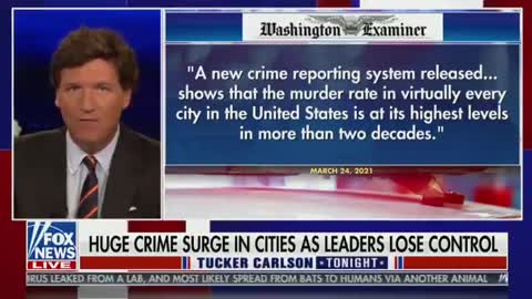 Tucker Carlson ANNIHILATES the Left For Their Part in Growing Violence in America