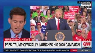 CNN post Trump rally