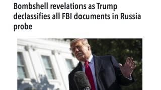 Trump To Declassify all the Russia Documents!