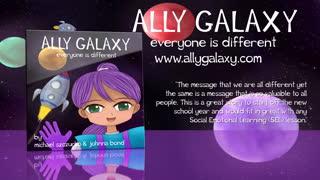 Ally Galaxy - Children's Picture Book