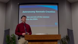Kootenai Church Conference with Dr. Jason Lisle Session 4: Astronomy Reveals Creation