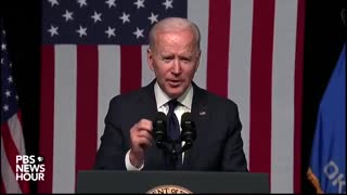 Biden Mindlessly Claims White Supremacy is a Bigger Threat to America than ISIS or Terrorism