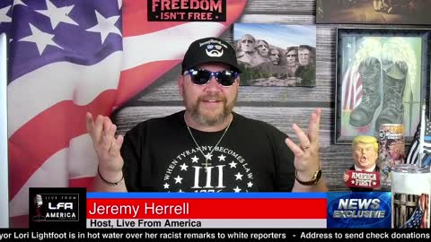 Live From America - June 8th 2021 5pm Tuesday
