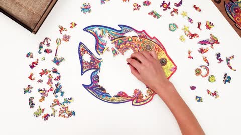 Jigsaw puzzles aren't just for kids - Shining Fish