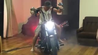 Dropping Wheelies in the Living Room