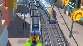 playing subway surf gameplay