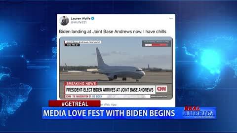 Dan Ball - #GETREAL 'Media Love Fest With Biden Begins'