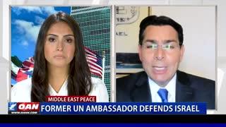 Former UN ambassador defends Israel
