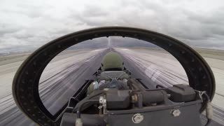 F16 Performs at the Sound of Speed