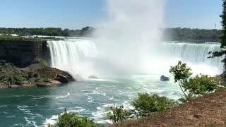 Fall water between north American, environment