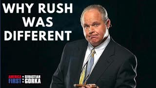 Why Rush was Different. Jennifer Horn on AMERICA First with Sebastian Gorka