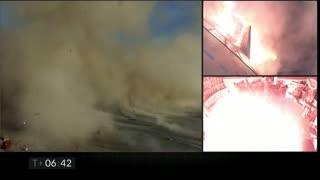 Video: Nave de SpaceX explota durante el aterrizaje