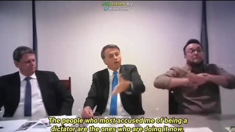 Vaccine Passport is for Population Control -PRES.OF BRAZIL