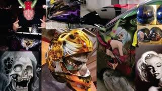 The Art Den Team Airbrush and Custom Paint. London Ontario.