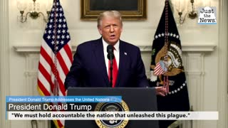 Trump criticized China with virtual United Nations address, says U.N. must hold China accountable