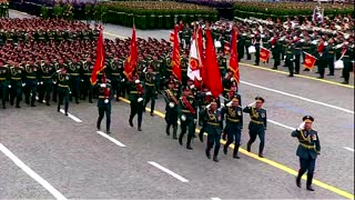 Russia shows military might at Victory Day parade