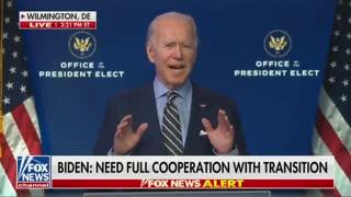 """Biden Actually Claims Trump Created """"Humanitarian Crisis"""" On Border"""