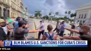 2nd Sinkhole Appears in Manhattan in 2 Weeks; BLM Blames U.S. Sanctions for Cuba's Crisis | NTD News