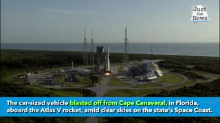 NASA launches historic Mars rover Perseverance