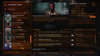 Passenger mission in Elite Dangerous - Horizons