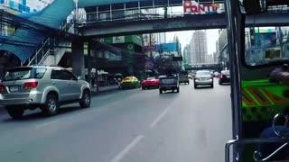Tu-Tu ride Bangkok