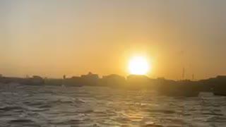 Watch sun goes down ☀️