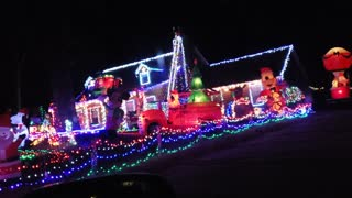 Best Holiday Light Show in South Georgia