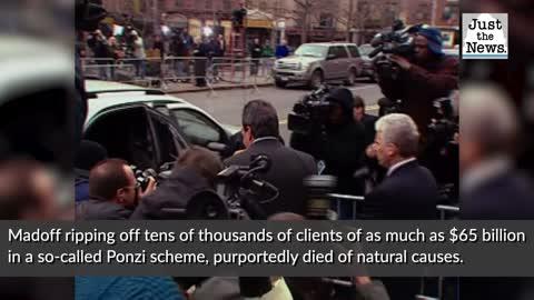 Bernie Madoff, who swindled billions from investors, dies in prison, report